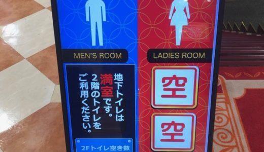 トイレの空き状況を全部明確にしようぜ!レッツIoT!!