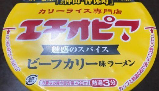 【食レポ】カップラーメン「エチオピア」