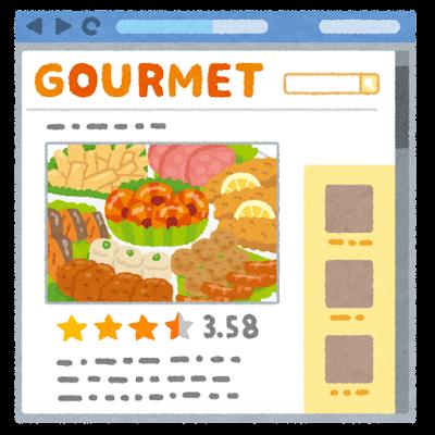 Gourmet website