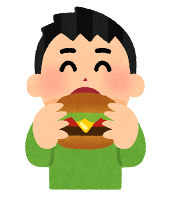 Syokuji hamburger boy